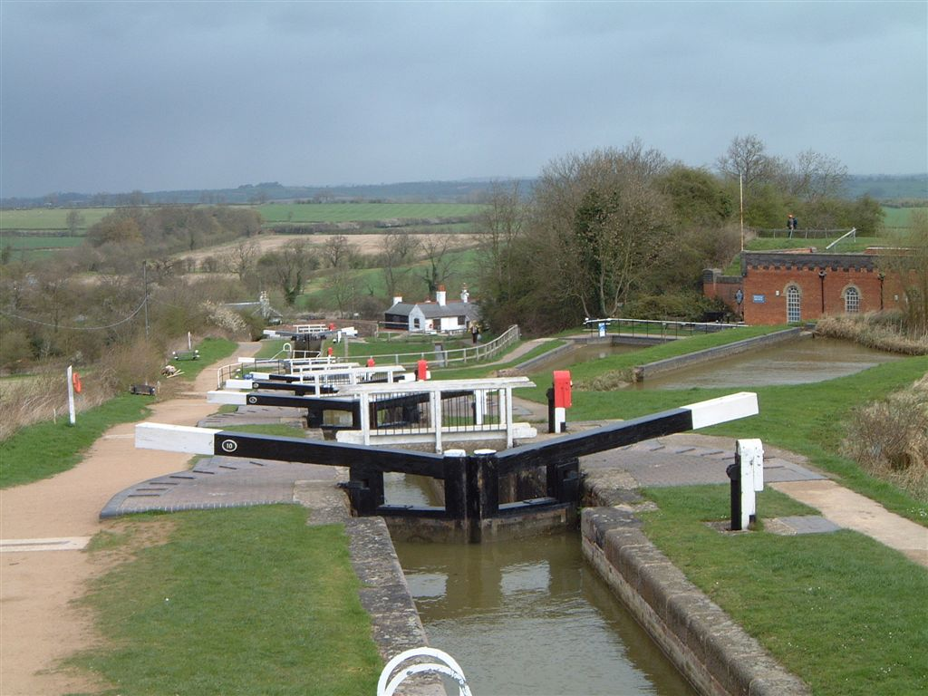 Canal lock at Brecon