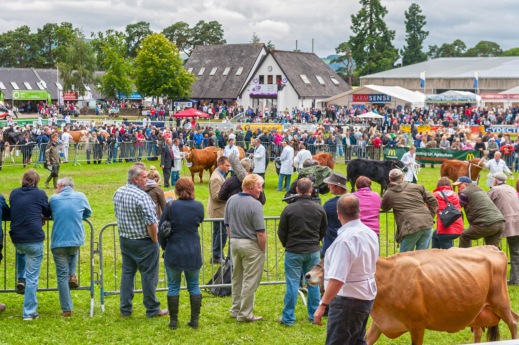 Royal Welsh Agricultural Show, each July, near Builth Wells