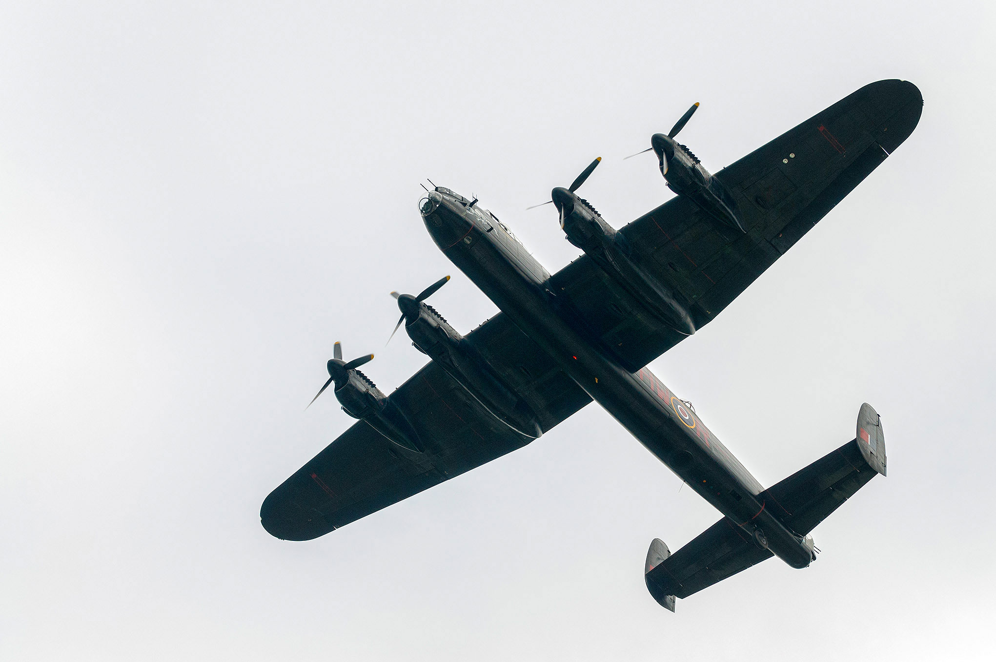 Lancaster from the Battle of Britain Memorial Flight
