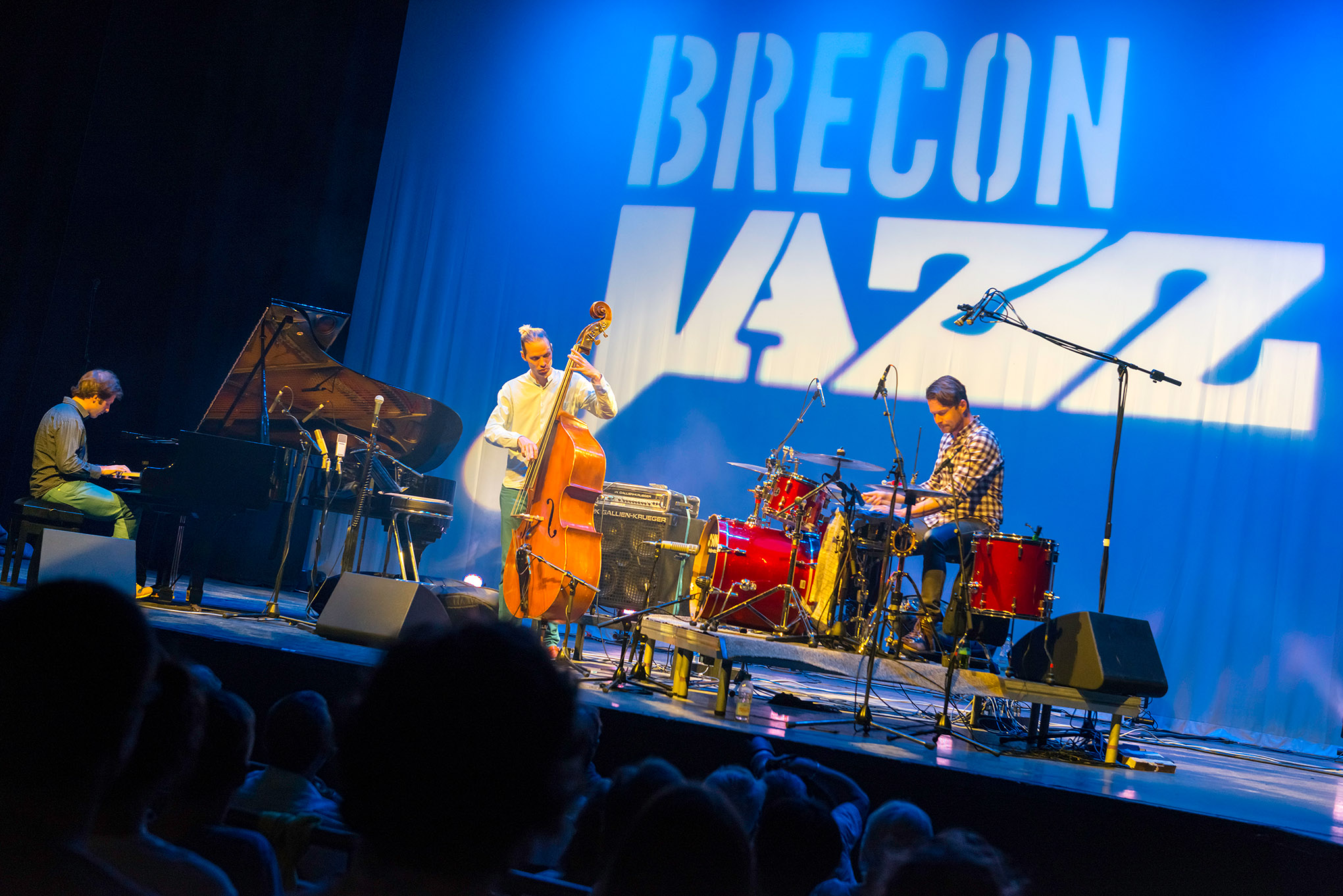 Group playing at Brecon Jazz